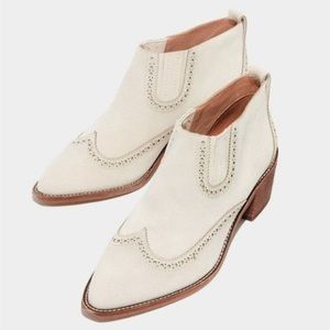 Madewell Grayson Brogue Chelsea Boot Size 9.5